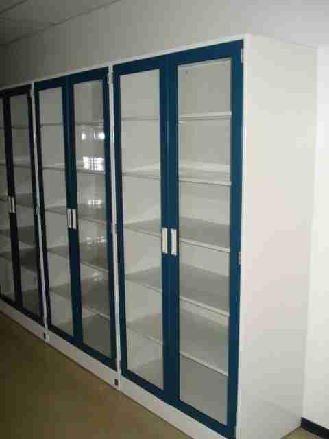 Floor Glassware Lab Cabinets 4X