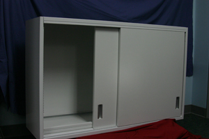 Triad Wall Cabinet Sliding Door Lab Furniture 48 2 Shelf Wall