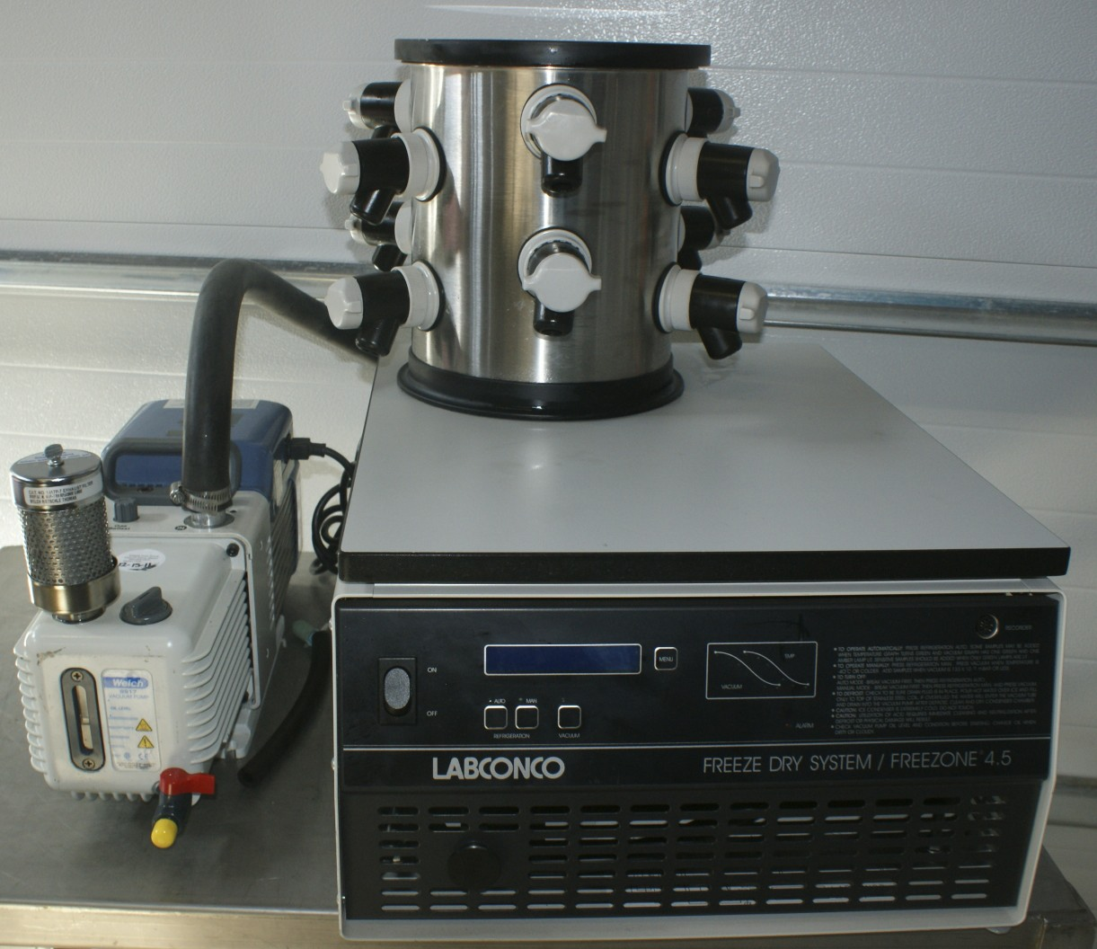 Triad - VIRTIS 2K Tabletop Freeze Dryer VIRTIS 2KBTES-55
