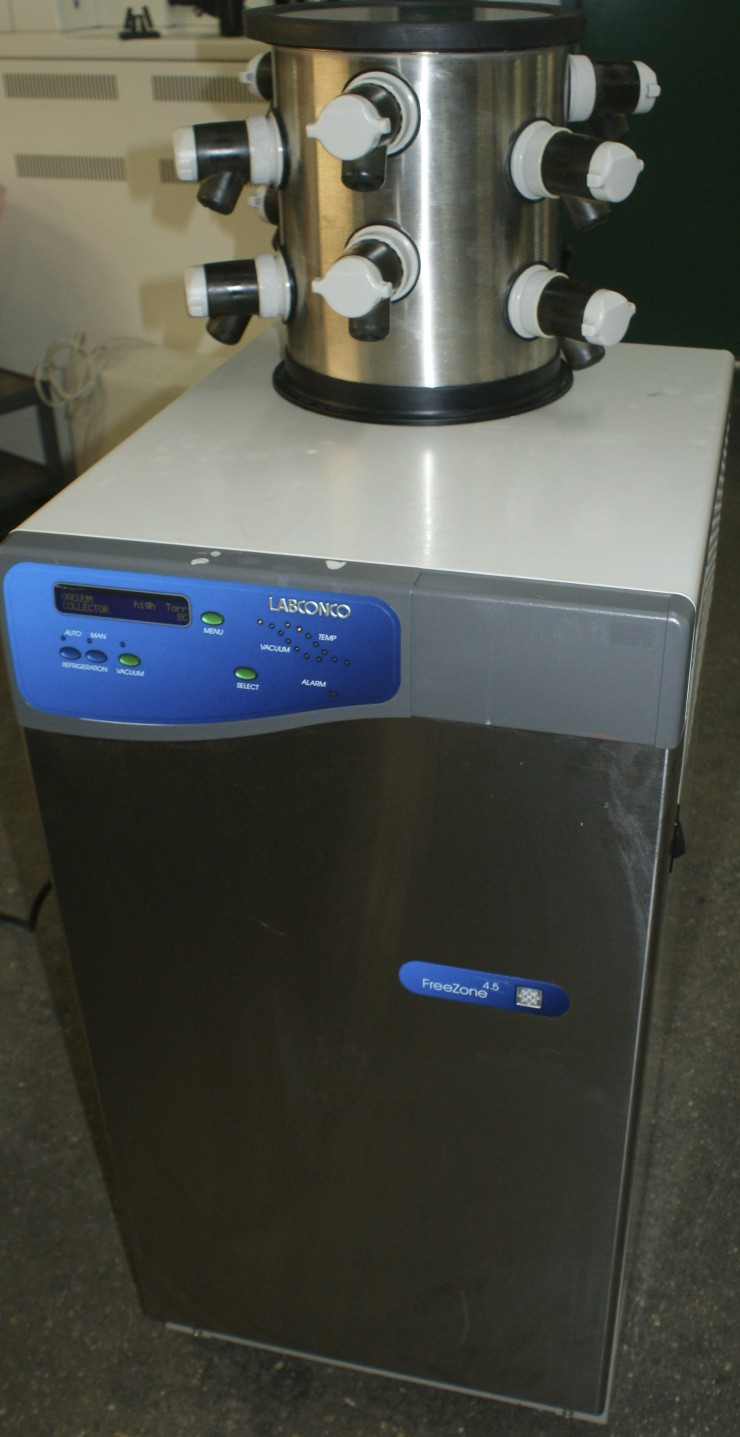Triad - Labconco Freeze Dryer Labconco FreeZone Freeze Dry